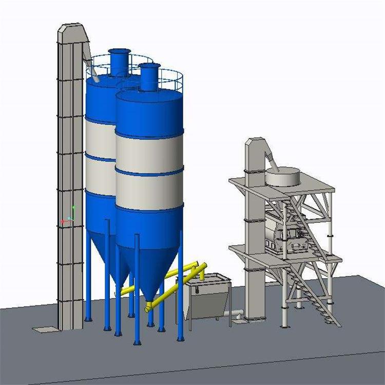 邯郸每天一百吨抹灰石膏搅拌机