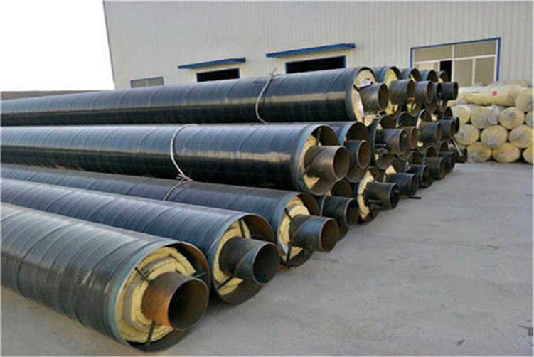 乌兰察布钢套钢蒸汽保温钢管价格优