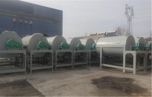 乌兰察布每天一百吨抗裂砂浆搅拌机