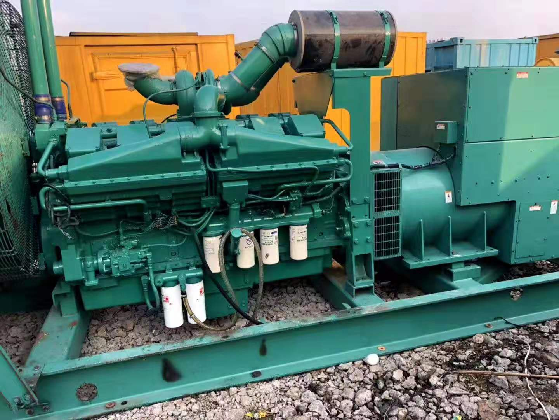 山西1000kw发电机租赁省油绿色环保