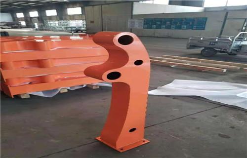 安徽q235防撞设施护栏施工现场案例